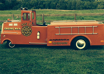 Childrens Amusement Fire Truck Train Nothern Virginia