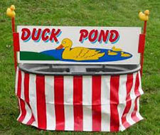 Duck Pond Game Rental Northern Virginia