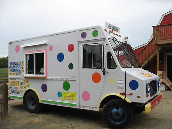 Ice Cream Party Truck Leesburg Virginia