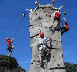 Rock Climbing Wall Amusement Fairfax Virginia