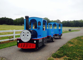 Thomas The Train Childrens Amusement Ride Northern Virginia
